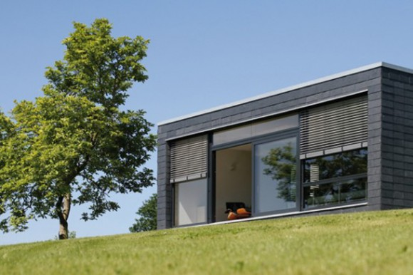 black sustainable home designs