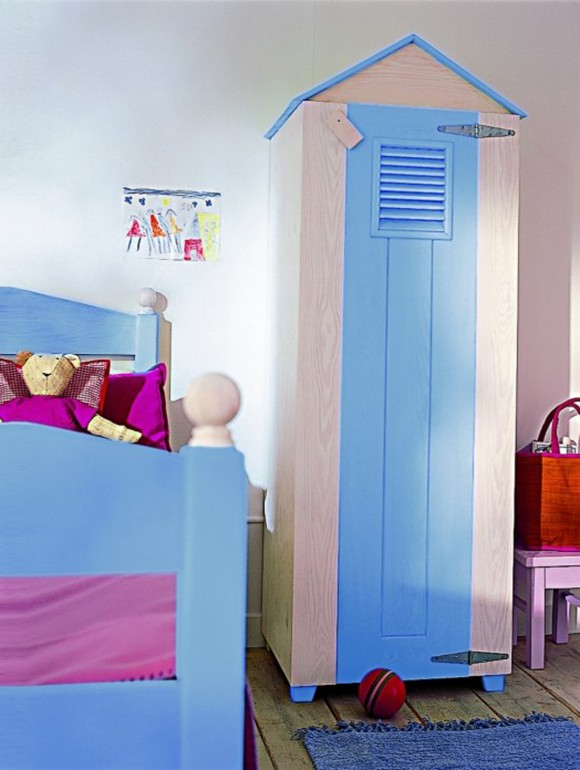 blue kids furniture landscape