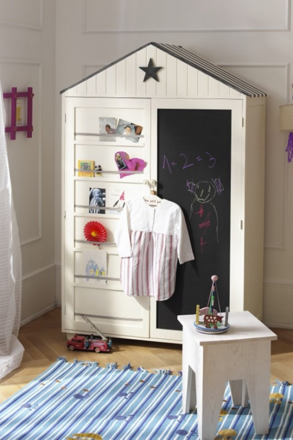 classy kids wardrobe system