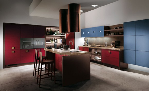 colorful cooking space photos