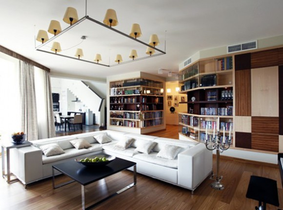contemporary apartment interior designs