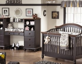 exclusive black bedroom furniture series