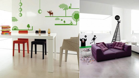 expressive wall sticker applications