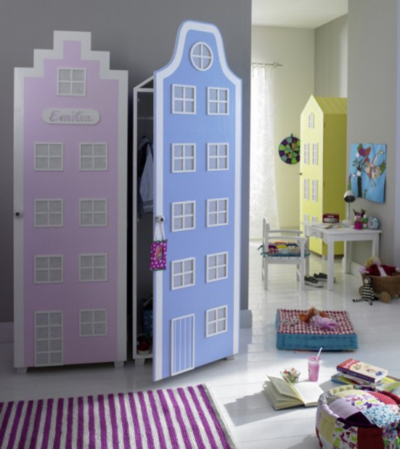 fairy tale kids cabinet designs