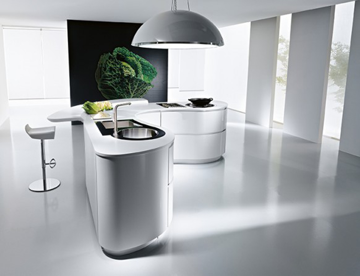 Futuristic Kitchen Counter Designs