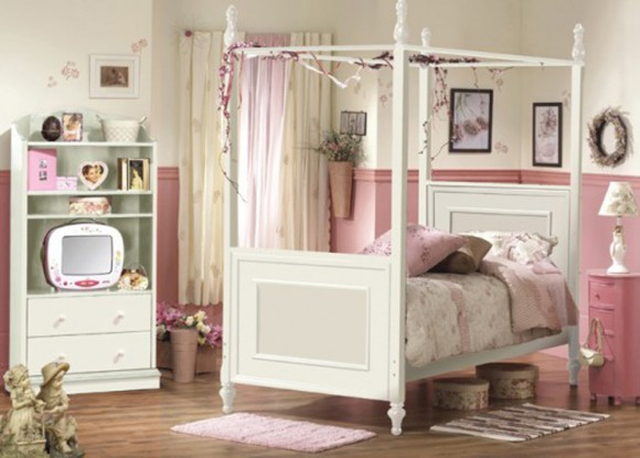 girly children bedroom applications