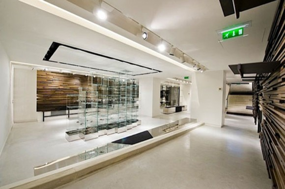 glossy modern fashion store