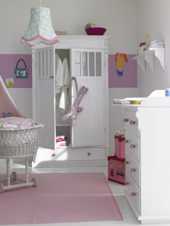 luxury kids wardrobe and cabinet