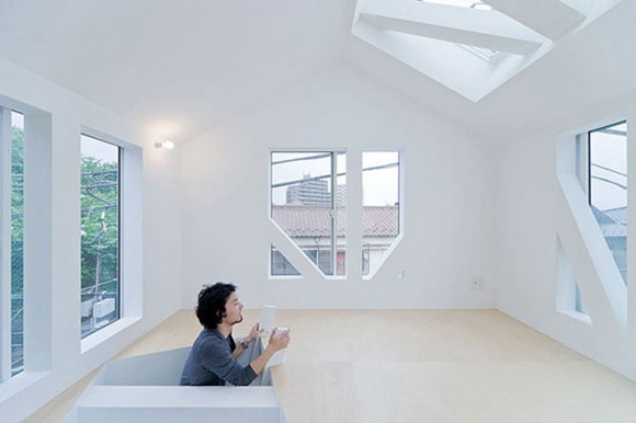 minimal loft apartment space
