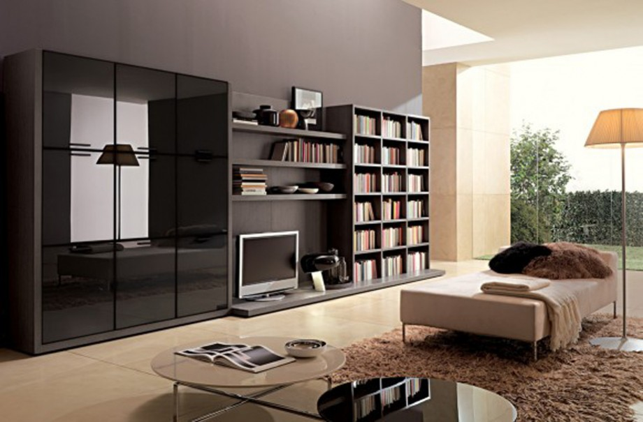 minimalist living space furnishing layouts