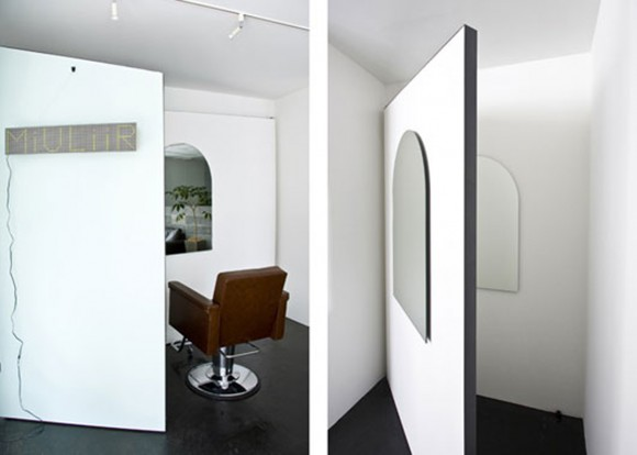 private hair salon treatment space