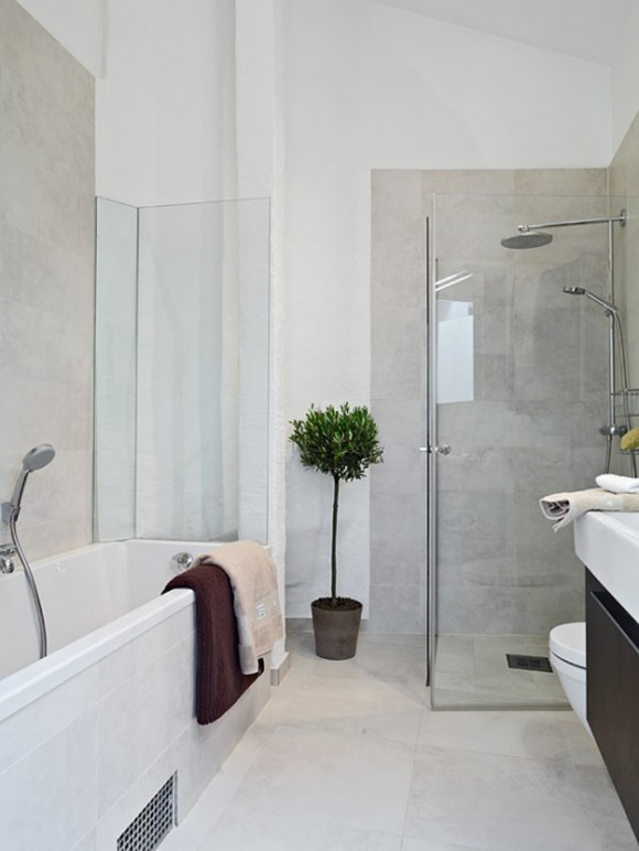 space saving bathroom apartment landscape