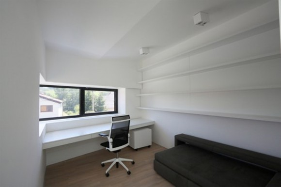 spacious minimalist workspace landscape