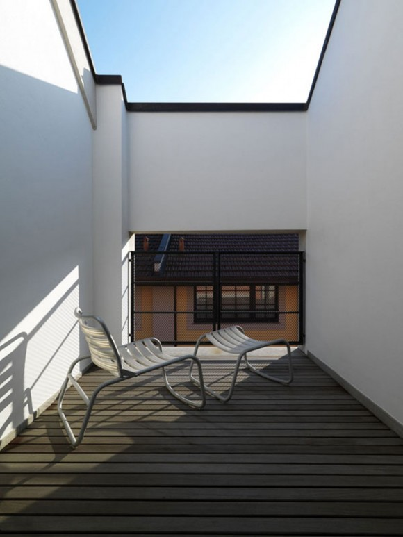 spacious terrace space inspirations