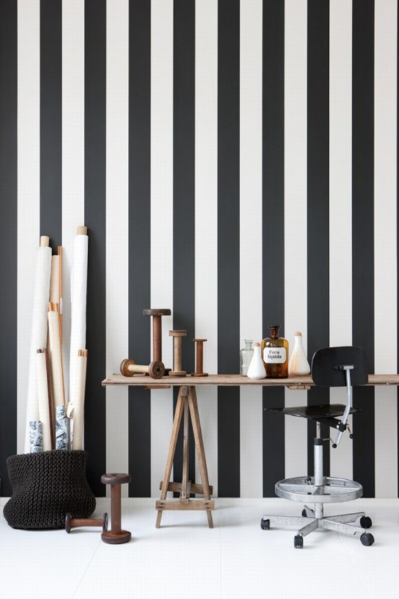 stripe line wall decals designs