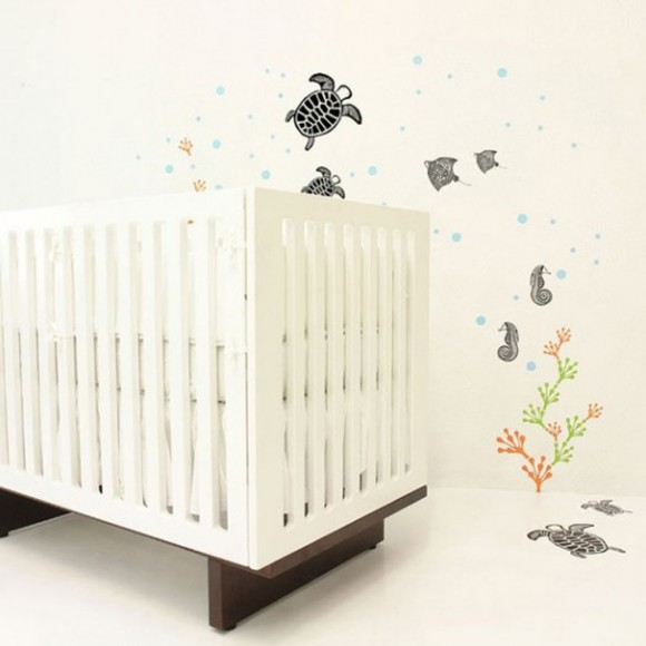 animal features wall decals
