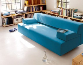 blue color scheme home furniture