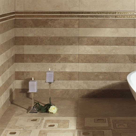 classical bathroom flooring tiles