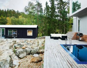 contemporary scandinavian home designs
