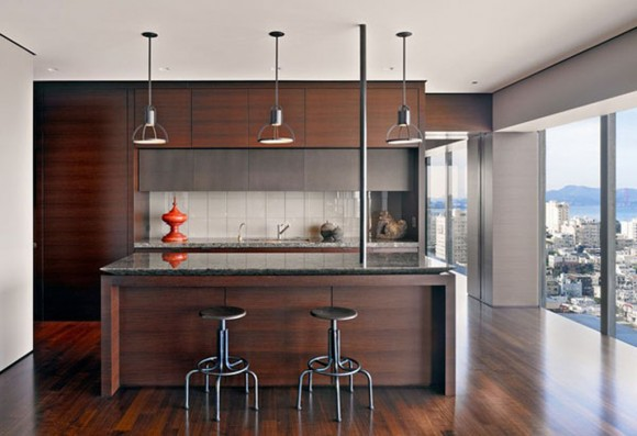 contemporary wooden kitchen ideas