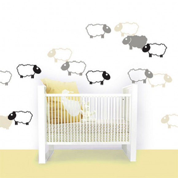 cute kids bedroom wall decals