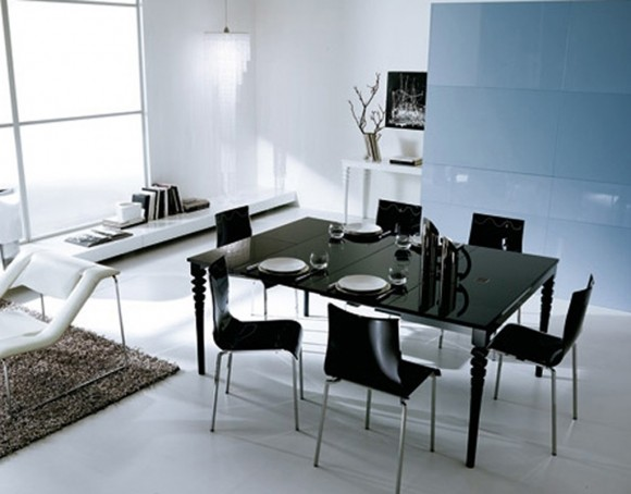 elegant dark dining room furniture