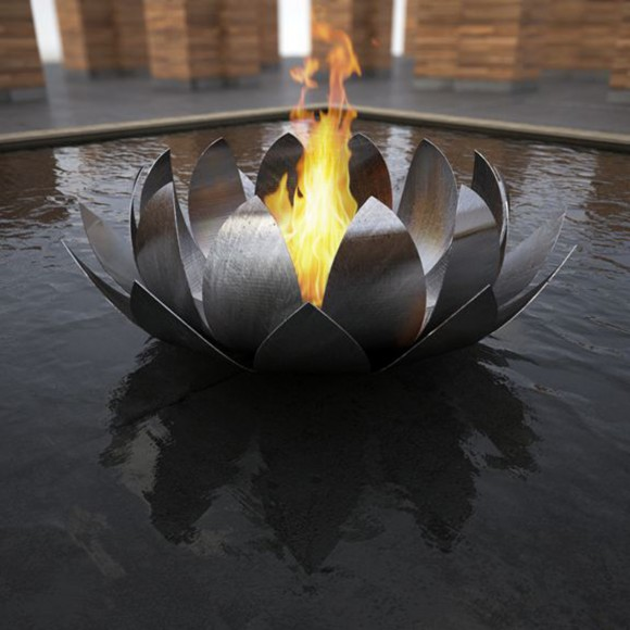 exceptional pool fire features