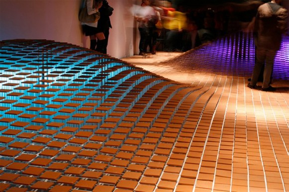 futuristic art installation designs