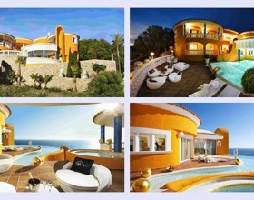 glamour seaside house designs