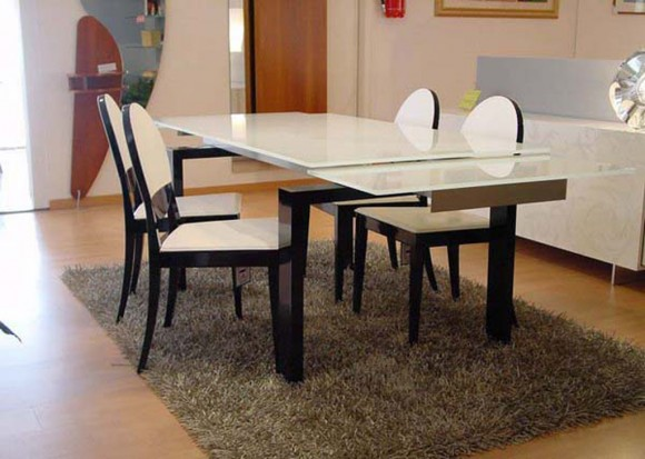 glossy dining table ideas