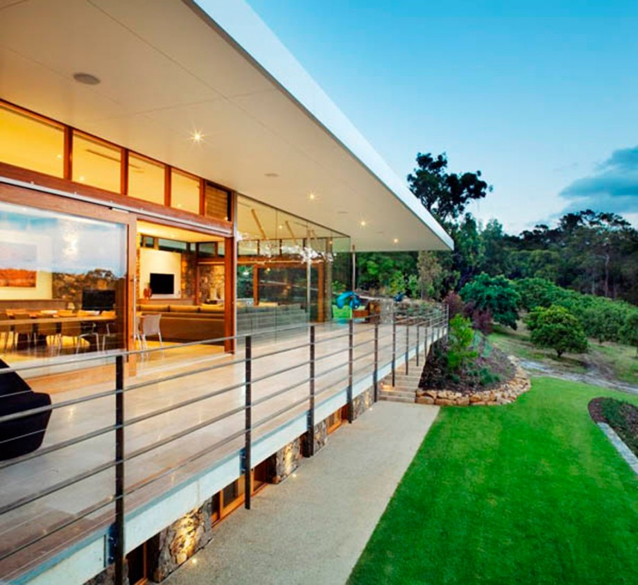 Green and clean home exterior project for Amazing house designs australia