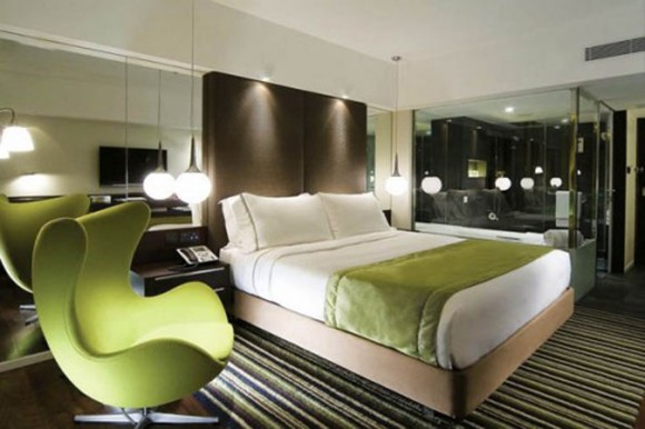 green and clean hotel room inspirations
