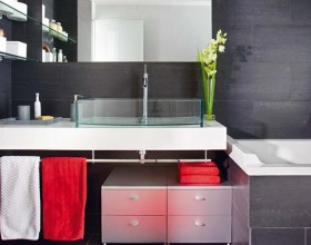 inspiring black bathroom designs