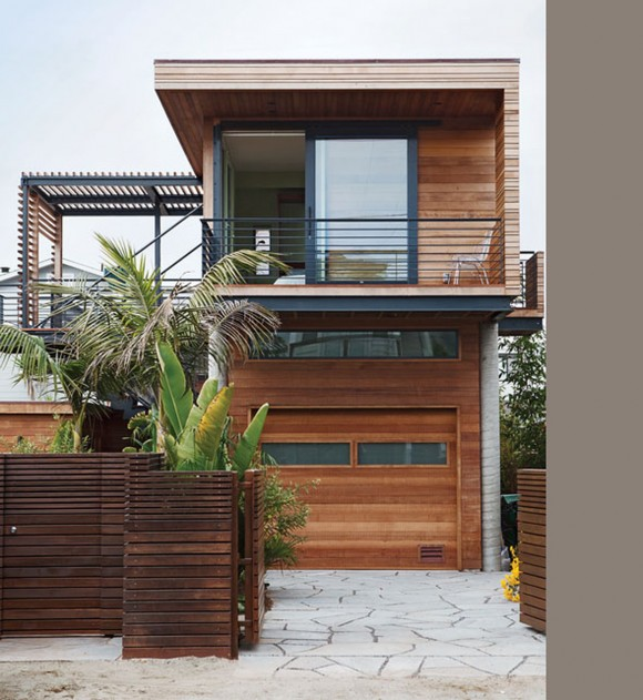 Inspiring Wooden House Designs with Huge Window System - Iroonie.