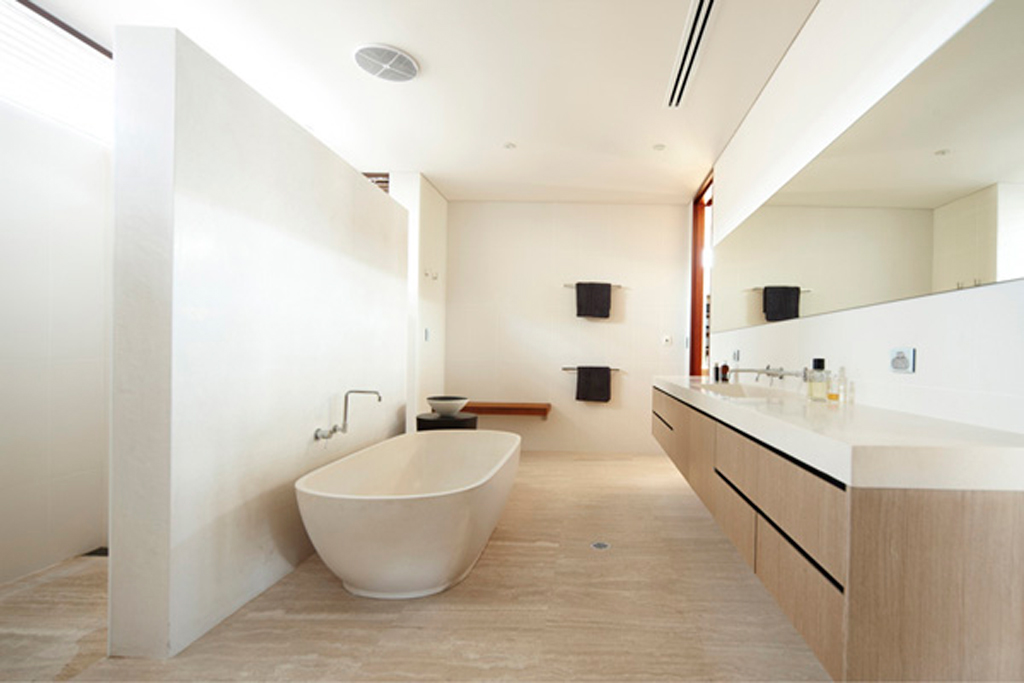 large bathroom landscaping ideas - Iroonie.com