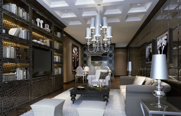 luxury home space furnishing