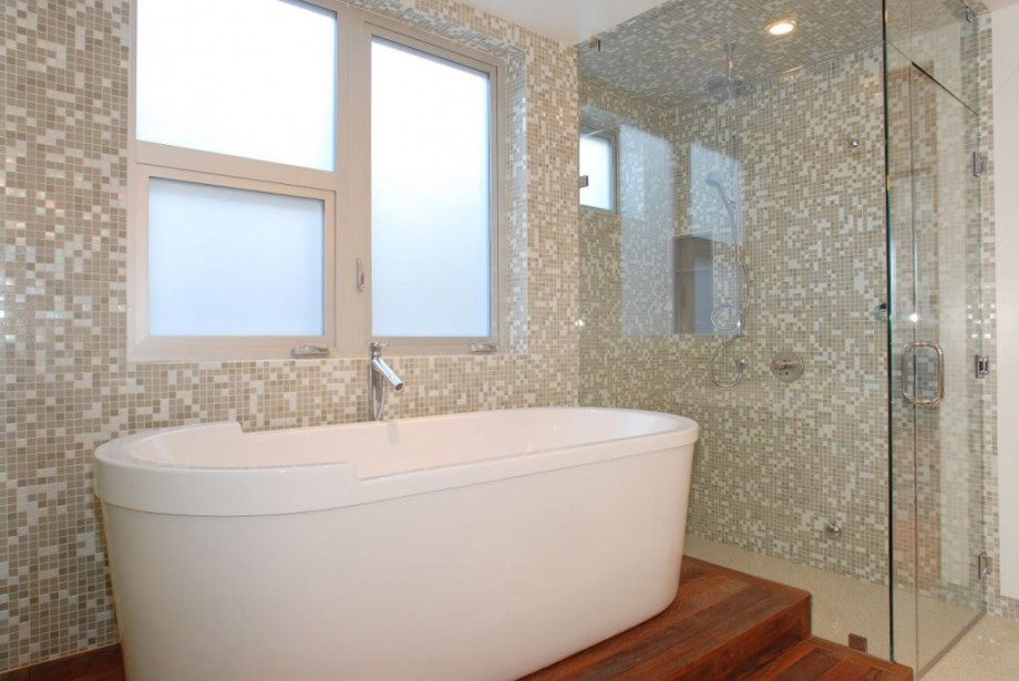 modular bathroom space landscape