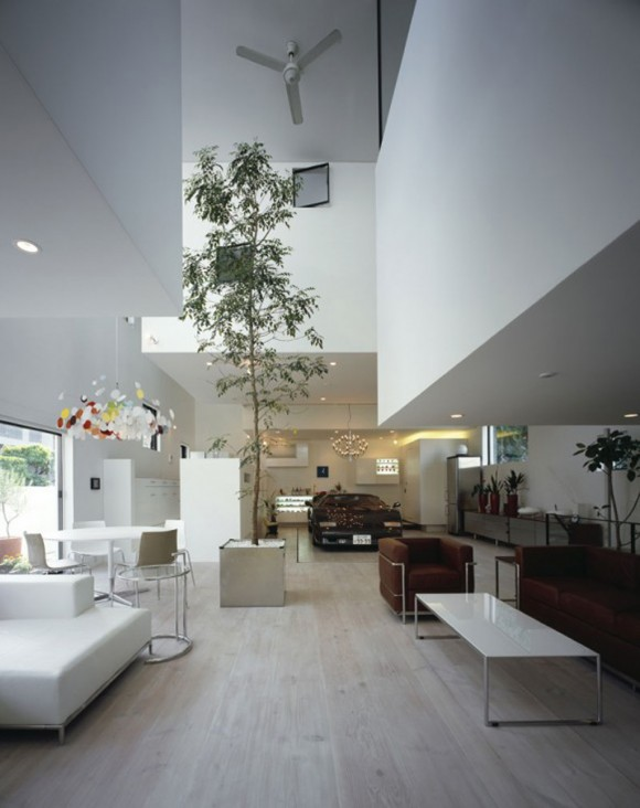 natural eco-friendly apartment living room