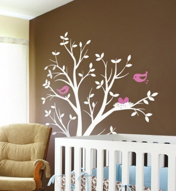 natural wall stickers designs