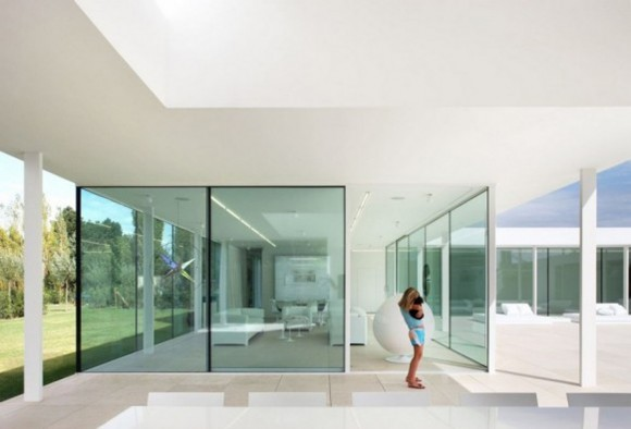over view villa interior planner