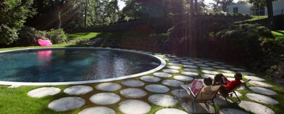 pretty outdoor pool designs