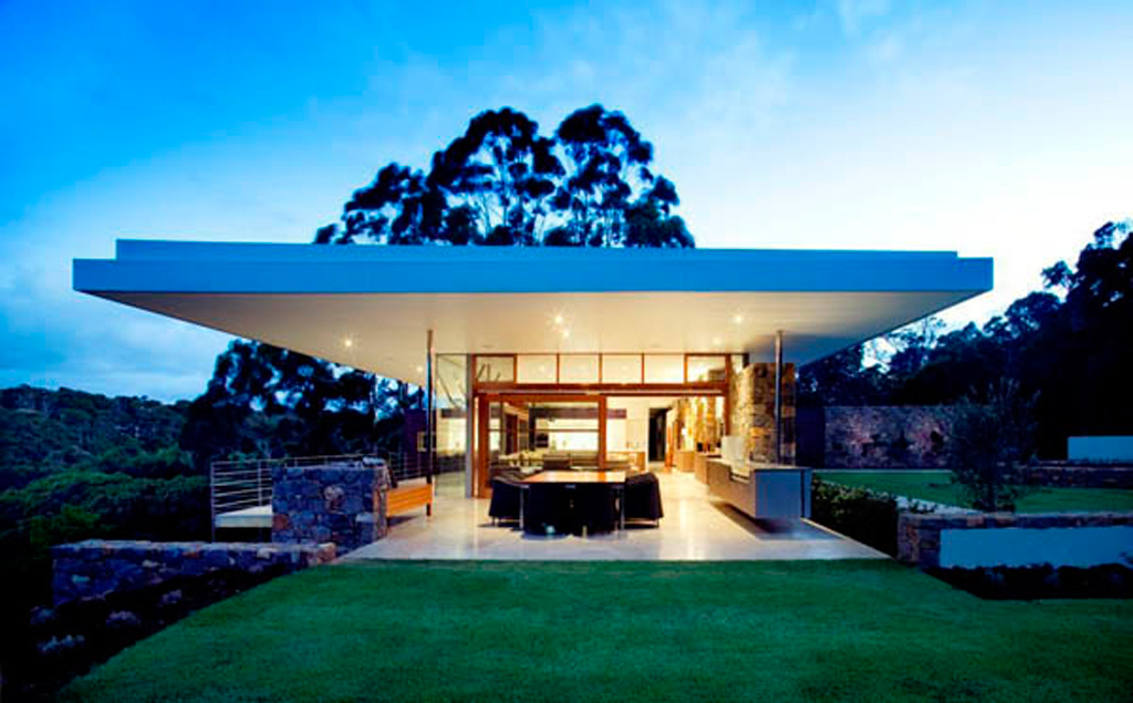 Romantic home landscaping imaginations for Amazing house designs australia