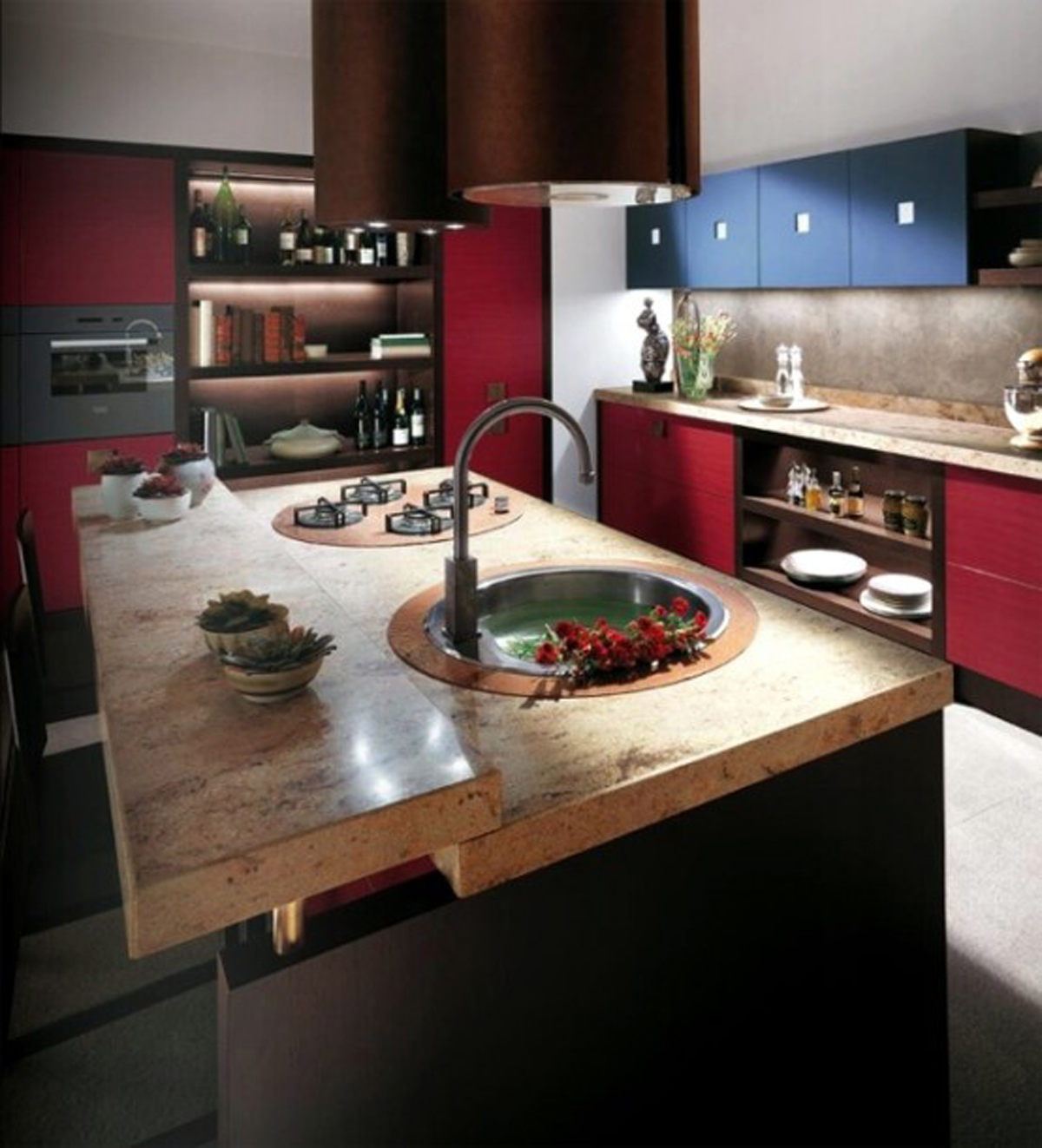 super cool kitchen decor landscape
