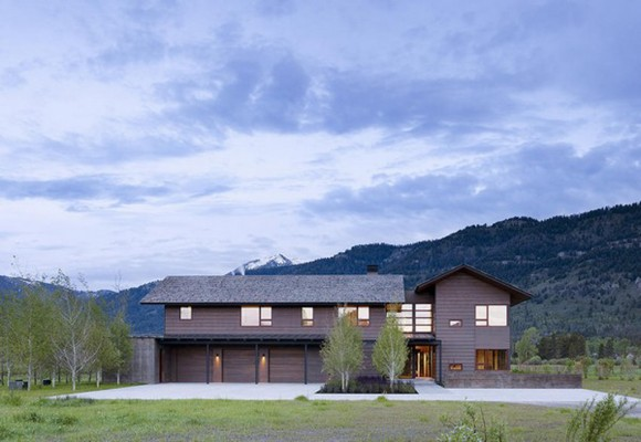 sustainable mountain home designs