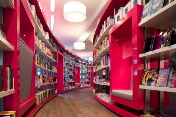 trendy book store designs