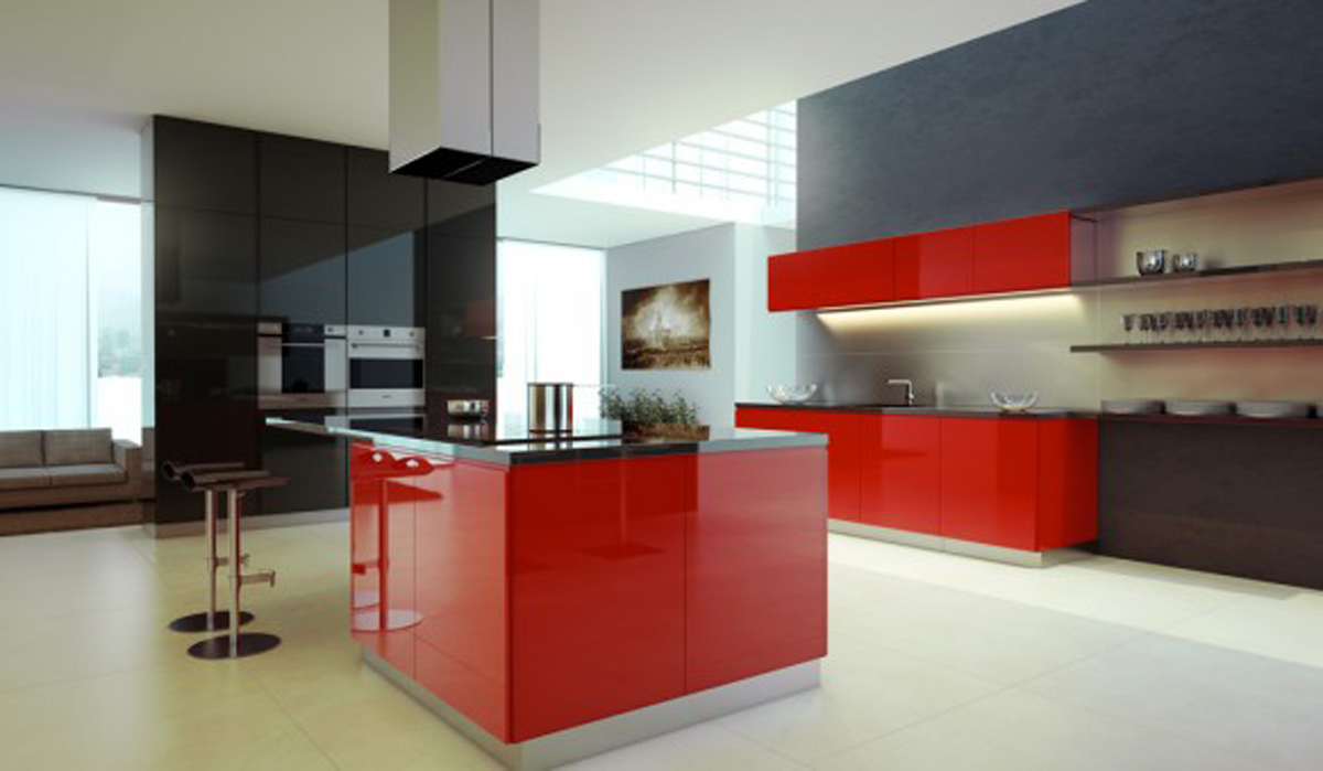 Trendy kitchen designs images for Trendy kitchen designs