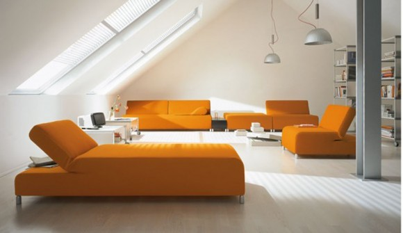 trendy multicolored furniture plans