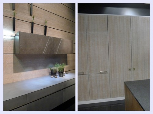 Futuristic Kitchen Designs with Touch Screen System