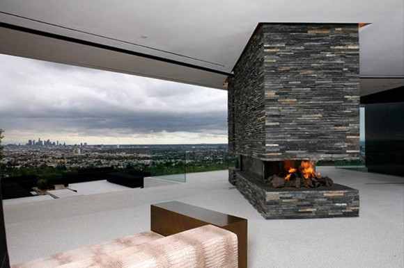 uniquely stone fireplace plans