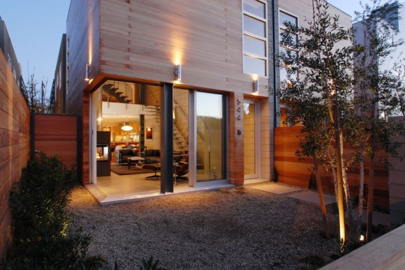 urban wooden home designs